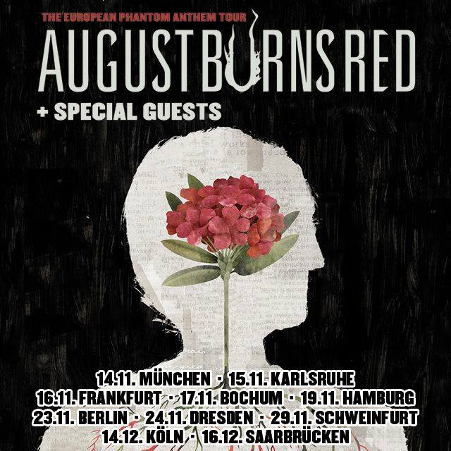 Phantom Sessions Ep August Burns Red: August Burns Red: The European Phantom Anthem Tour 2018