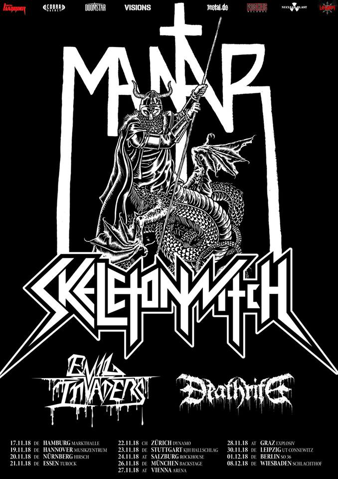 Skeletonwitch  Tour