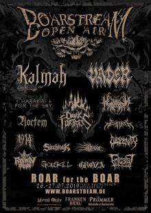 Flyer Boarstream Open Air 2019