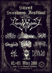 Flyer Silent Screams Festival I