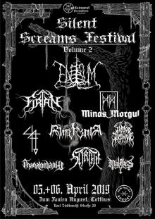 Flyer Silent Screams Festival II