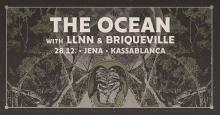 Flyer The Ocean w/ LLNN & Briqueville