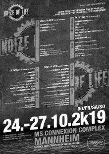 Flyer Noize Of Life Festival 2019