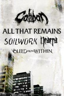 Flyer Caliban & All That Remains