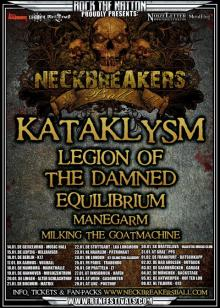 Flyer Neckbreakers Ball Tour 2011