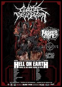 Flyer Hell On Earth Tour 2017