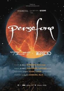 Flyer Persefone - Aathma Tour II