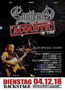 Flyer Ensiferum - Acoustic Live 2018 w/ Trio De Facto