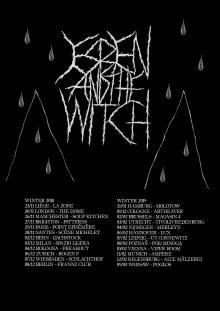 Flyer Esben And The Witch - Tour 2018/2019