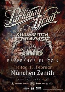 Flyer Parkway Drive / Killswitch Engage / Thy Art Is Murder