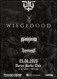 Flyer Wiegedood w/ Doodswens & Depravation