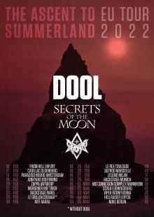 Flyer DOOL w/ Secrets Of The Moon & Caronte