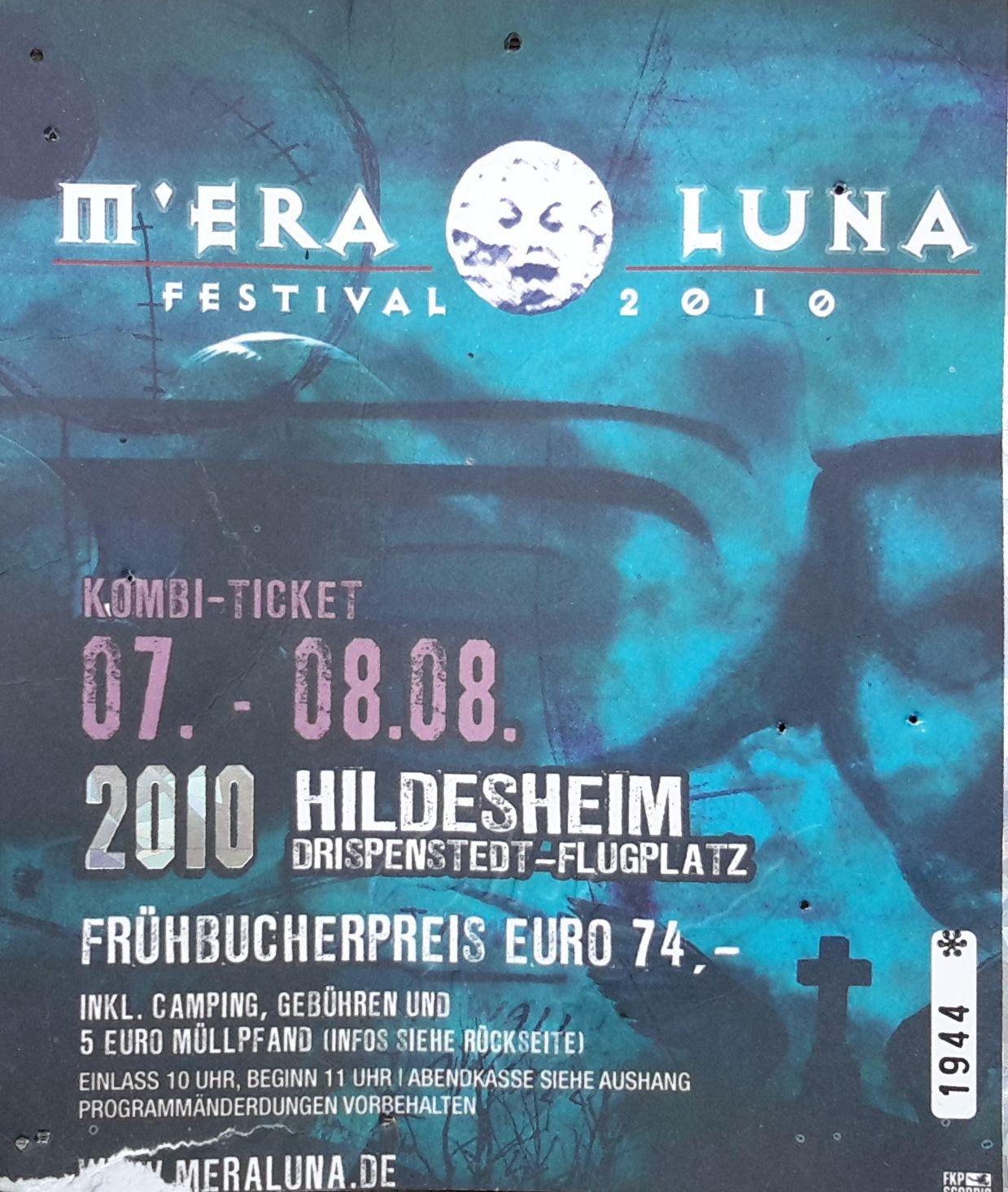 Mera Luna Festival 2010 - Flugplatz, Hildesheim am 06.08